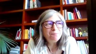 Pantallazo de la entrevista a Mabel Tapia