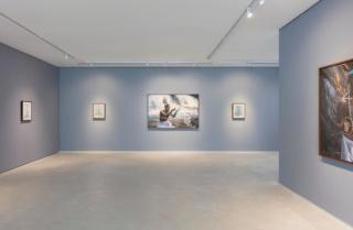 """Vista de """"Juntó"""", individual de Ayrson Heráclito en Simões de Assis (Curitiba). Cortesía de la galería Simões de Assis"""