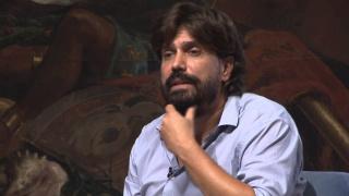 Fernando Gómez de la Cuesta. Fotograma de vídeo.