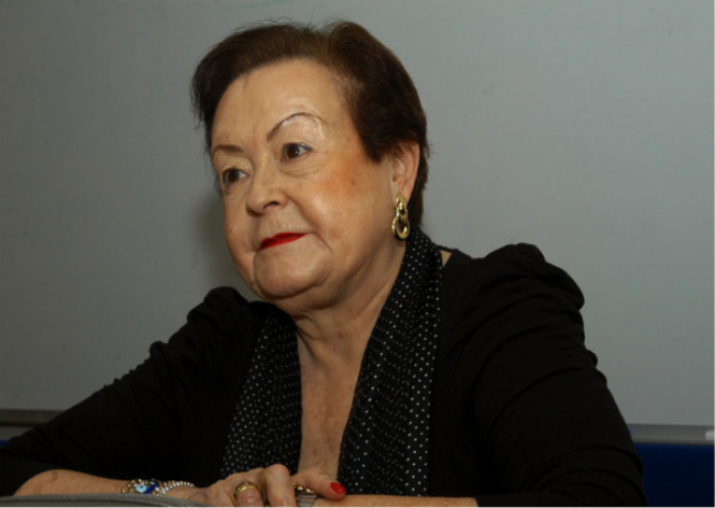 Lily Kassner. Cortesía de Miguel Cereceda | Fallece la historiadora del arte, investigadora, curadora y catedrática mexicana Lily Kassner