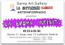 Presentación de LA DISTINCION - LA BROMA INFINITA en GARNA Art Gallery