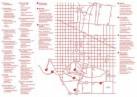 Mapa con las galerías