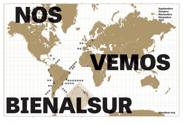 Cortesía de BIENALSUR | Arranca la primera BIENALSUR, un encuentro intercontinental en simultáneo