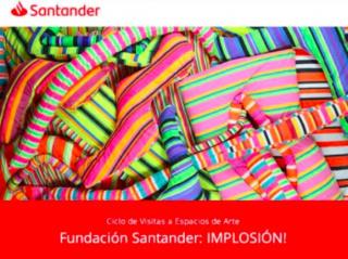 Cartel de la exposición en la Fundación Santander