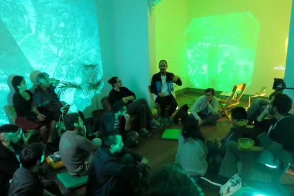 Cortesía de Bisagra | Mapeando espacios alternativos del panorama artístico latinoamericano