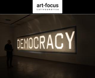 Avelino Sala, Democracia, material fonoabsorbente, dimensiones variables, 2019/2020. Cortesía de Art focus Latinoamérica