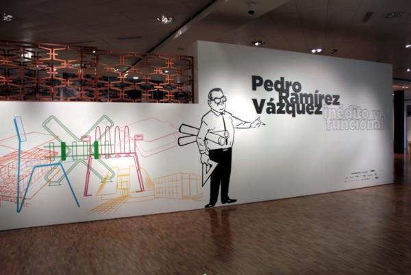 Exposición Pedro Ramírez Vázquez, inédito y funcional | Luces y sombras del 50 aniversario del MAM
