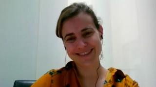 Pantallazo de la entrevista a Nadia Arroyo