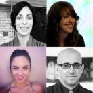 Carla Acevedo, Cristiana Tejo, Carolina Castro y Paco Barragán