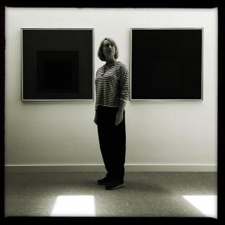 Fernanda Fragateiro en la Josef and Anni Albers Foundation. Fotografía de Jorge Colombo. Cortesía de la artista