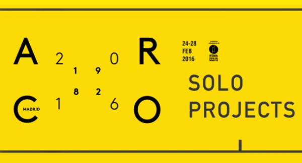 Logotipo. Cortesía ARCOmadrid | Los 18 artistas Latinoamericanos en SoloProjects de ARCOmadrid 2016