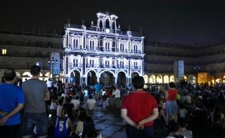 Festival Luz y Vanguardias en Salamanca, patrocinado por Iberdrola