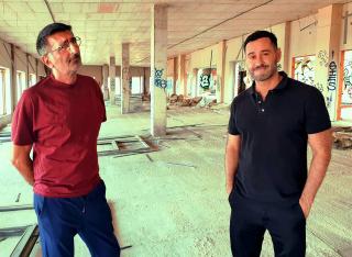 Paco de Blas y Alexander Apostol (derecha). Cortesía de @apostolalexander