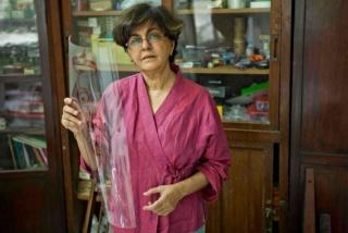 Nalini Malani. Cortesía de la Fundación Joan Miró