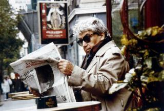 Oswaldo Vigas en París. Cortesía del artista