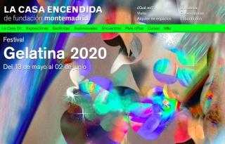 Pantallazo de la web de La Casa Encendida