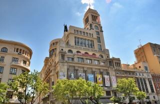 Vista del edificio del Circulo de Bellas Artes de Madrid. Cortesía de DRAWING ROOM MADRID