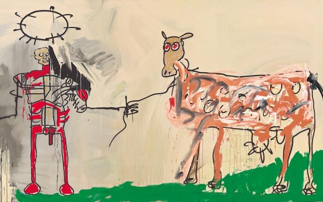 Obra de Basquiat. Cortesía del CCBB | #loquehayquever en Brasil: retrospectivas de Jean-Michel Basquiat y Bill Viola