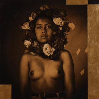 Obra de Luis González Palma. Cortesía de Blanca Berlín