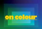 Cartel de la exposición On Colour