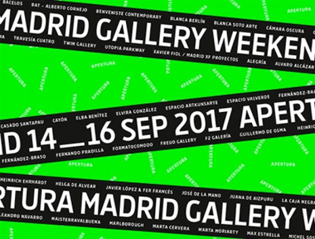Logotipo | #loquehayquever en España: Apertura Madrid Gallery Weekend, la rentrée artística con 46 galerías bajo observación internacional