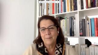 Pantallazo de la entrevista a Lourdes Fernández