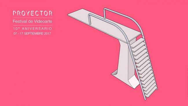 Cartel de PROYECTOR/Festival de Videoarte 2017 | PROYECTOR: una década proyectando el mejor videoarte en Madrid y por el mundo