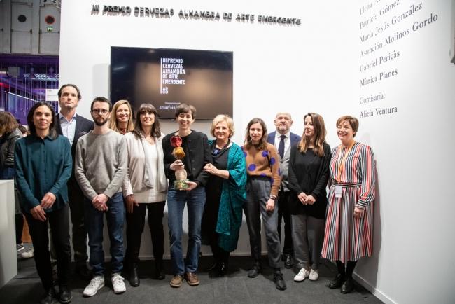 Elena Alonso. Cortesía de ARCOmadrid 2019   Mujer y joven, el perfil del artista premiado en ARCOmadrid 2019