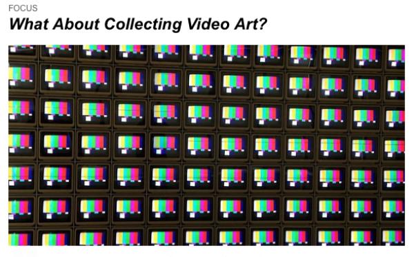 Nam June Paik I Video Flag Z , 1986. Los Angeles County Museum. Cortesía LOOP Barcelona   LOOP Barcelona explorará el coleccionismo y las prácticas sonoras ligadas al vídeo