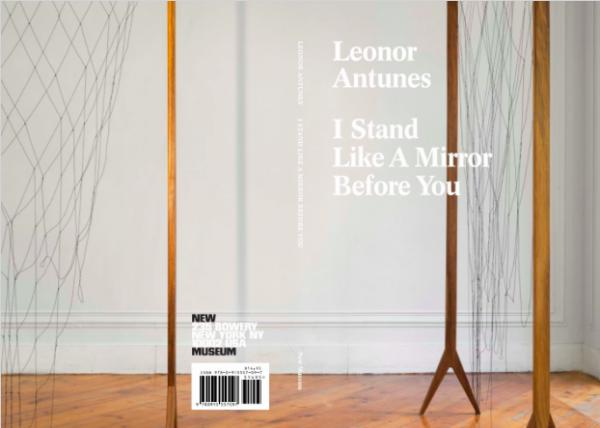 Cartel de la exposición. Cortesía New Museum | Leonor Antunes debuta en Nueva York en el New Museum