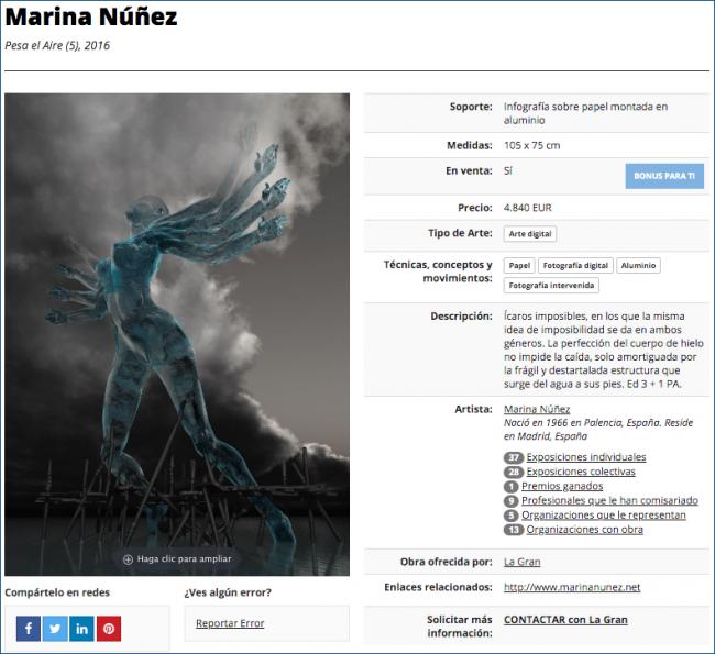 Una obra bien informada pone al artista y a su obra en su sitio | #arteinformado_responde: Cuatro informaciones claves para vender tu obra