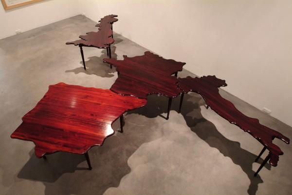 Exposición de Mateo Maté. Cortesía del artista. | Más de quince nuevos artistas en las galerías españolas