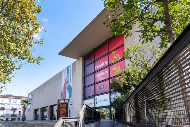 Vista de la fachada principal del IVAM | 30 aniversario del IVAM en 2019