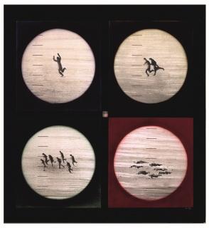 Uno, dos, siete, siete (1968). Juan Genovés. Colección del IVAM. Cortesía del IVAM