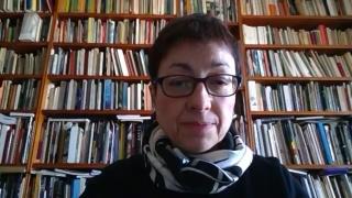 Pantallazo de la entrevista a Pilar Parcerisas