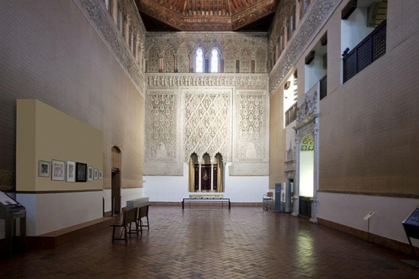 Sinagoga del Tránsito, instalación específica de Carme Nogueira. Cortesía de la artista | Los artistas iberoamericanos que no debes perderte en Opening ARCOmadrid 2017