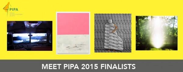 Prêmio Investidor Profissional de Arte - PIPA 2015 | Seleccionados los cuatro finalistas del programa PIPA 2015