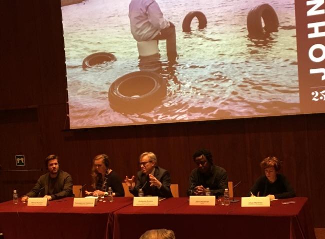 Presentación de la muestra en el auditorio del Museo Thyssen   El Museo Thyssen se suma al arte contemporáneo con el apoyo de Francesca Thyssen