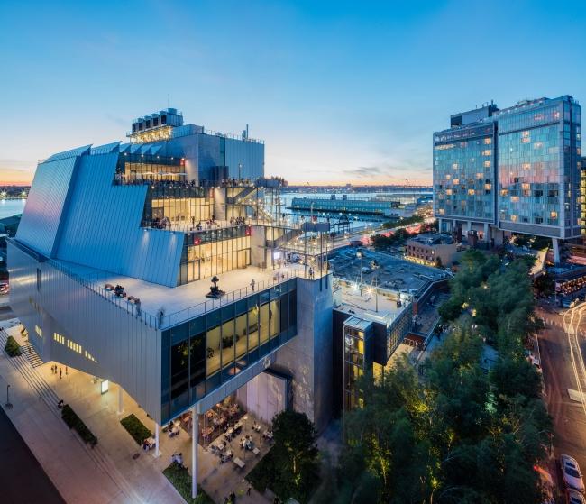 Vista del Whitney Museum of American Art. Fotografía de Ben Gancsos | La participación iberoamericana seguirá aumentando en la Bienal del Whitney 2019