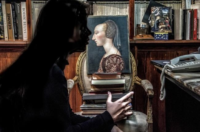 Obra de Liza Ambrossio en camara oscura. Cortesía de la galería | Apertura Madrid: medio centenar de galerías y más de 70 artistas celebran el inicio de la nueva temporada
