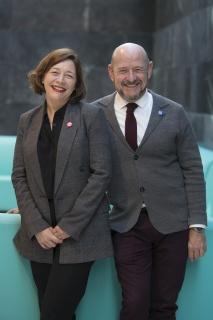 Maribel López y Carlos Urroz. Cortesía de IFEMA