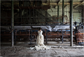 """'Abandoned series' de Cecilia Paredes, dentro del I Encuentro de Arte Actual LPGC, bajo el título """"La ciudad tomada"""". Cortesía del área de Cultura del Ayuntamiento de Las Palmas de Gran Canaria"""