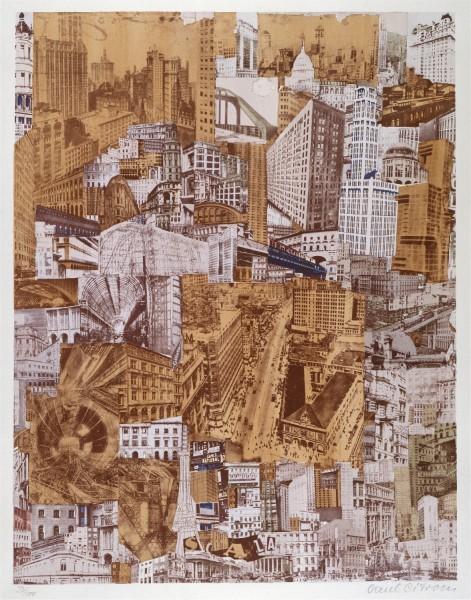 Paul Citroën - Metropolis, ca. 1923 | Coleccionar arte contemporáneo: detectar, comprender y hacer trascender la obra