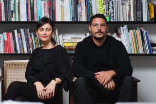 Jaqueline Martins y Yuri Oliveira. Cortesía Galería Jaqueline Martins