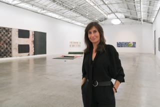Sandra Guimarães, en Bombas Gens Centre d'Art. Cortesía de la Fundació Per Amor a l´Art (Valencia, España)