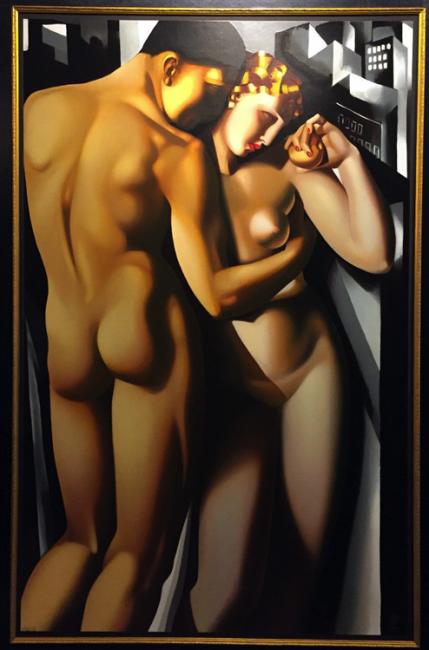 Adam and Eve, 1991 de Tamara de Lempicka - Gentiteza de Freijo Gallery | OBRAS que debes conocer