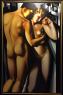 Adam and Eve, 1991 de Tamara de Lempicka - Gentiteza de Freijo Gallery