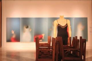 Vista de exposición. Cortesía de la Colección de Arte ABANCA