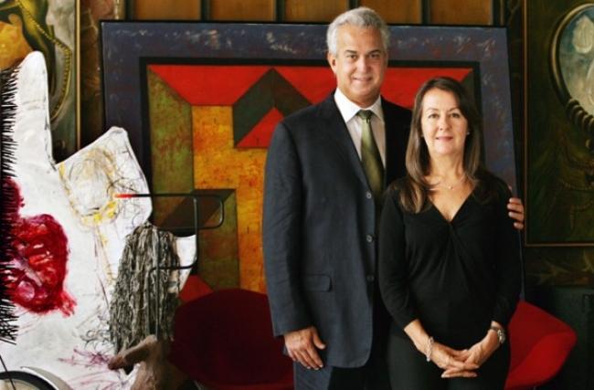 Arturo y Liza Mosquera. Pantallazo de su web | Una quincena de colecciones especializadas en arte cubano