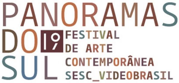 Logotipo | Los seis artistas invitados por el Comité Curatorial del 19ª Festival Sesc_Videobrasil